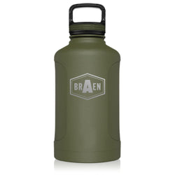 Branded BrüMate 64oz GROWL'R Growler Bottle