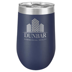 Branded Polar Camel 16oz Stemless Wine Tumbler
