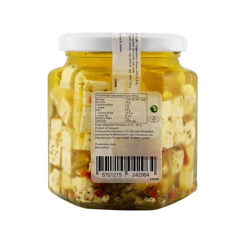 Emborg Feta in Oil with Herbs & Spices 300g