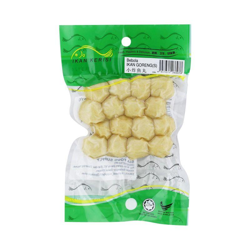 Sia Fried Fish Balls (Bebola Ikan Goreng) 1pack