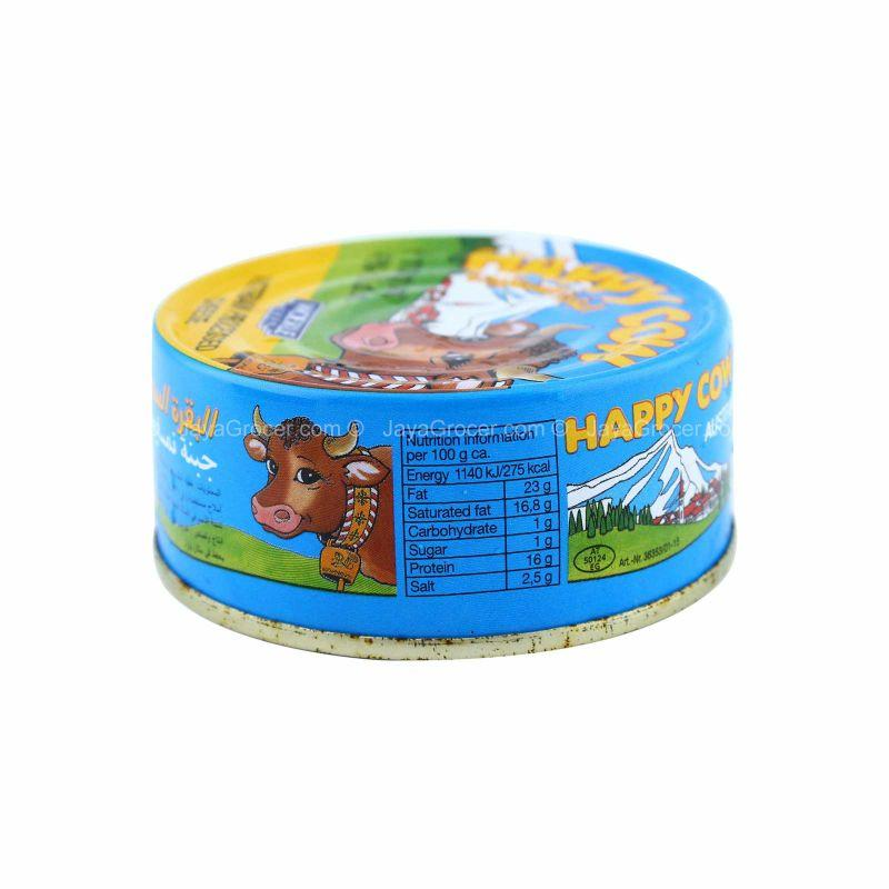 Happy Cow Austrian Processed Cheese in Tin 113g