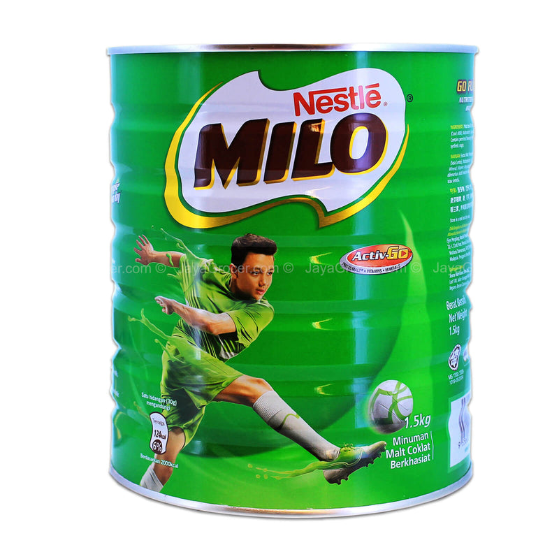 Milo Chocolate Malt Drink (Tin) 1.5kg