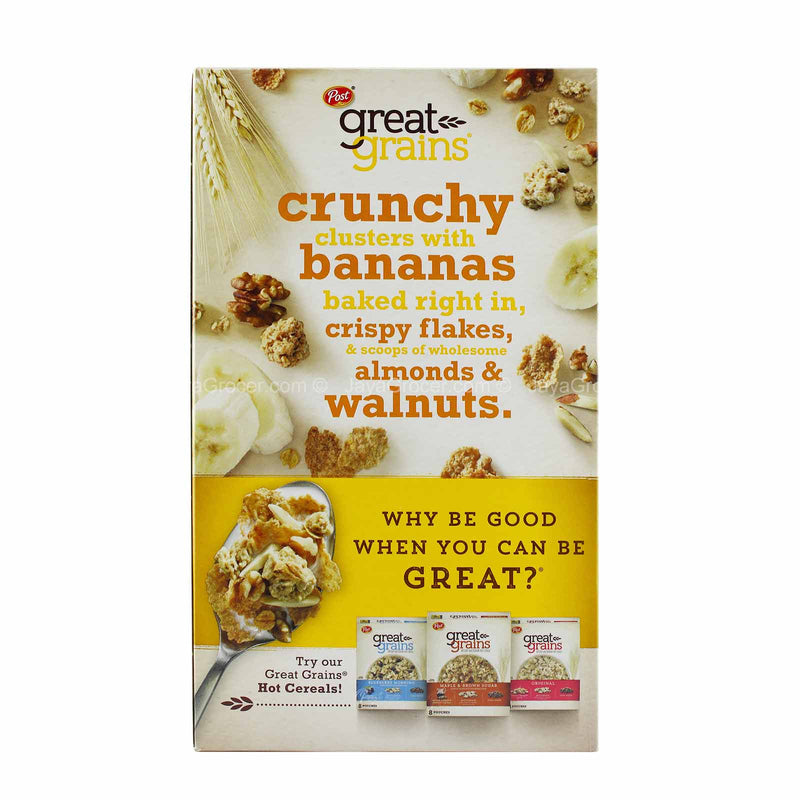 Post Banana Nut Crunch Cereal 439g