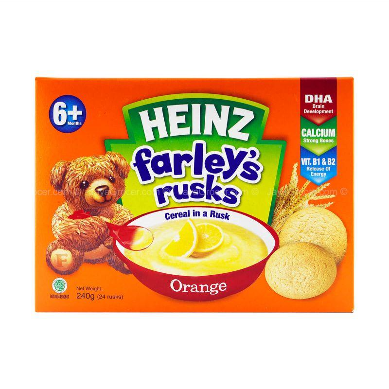 Heinz Farley's Cereal in A Rusk Orange Flavour 240g
