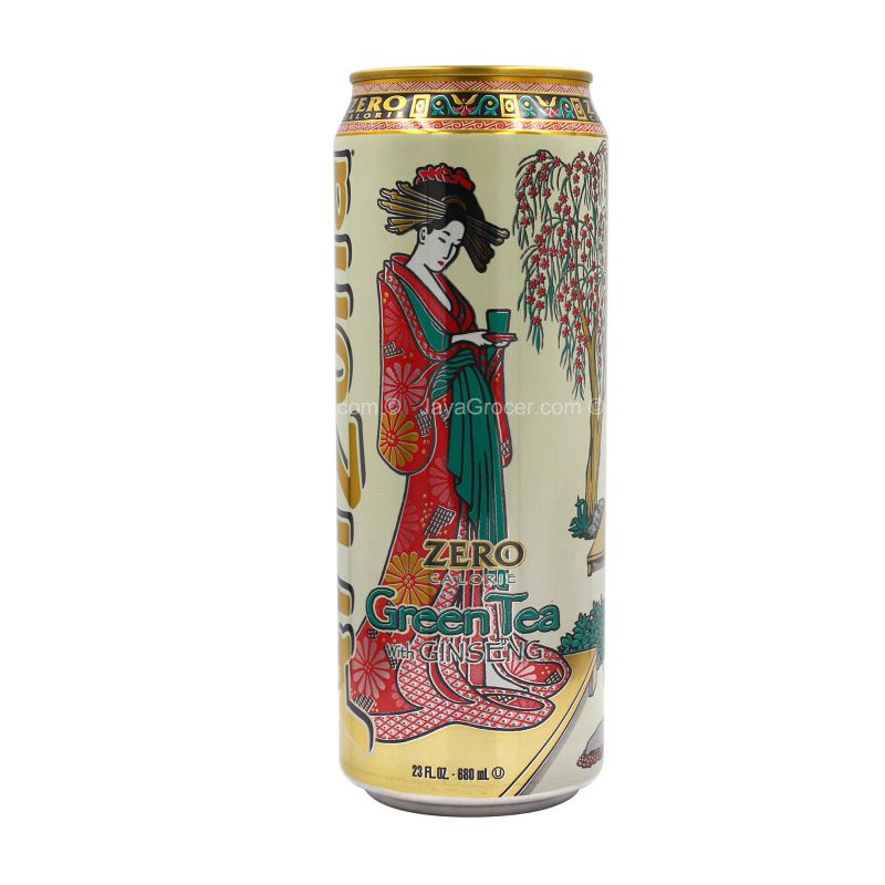 Arizona Zero Calorie Green Tea with Ginseng 680ml