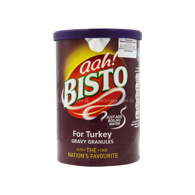 Aah! Bisto Gravy Granules For Turkey 170g