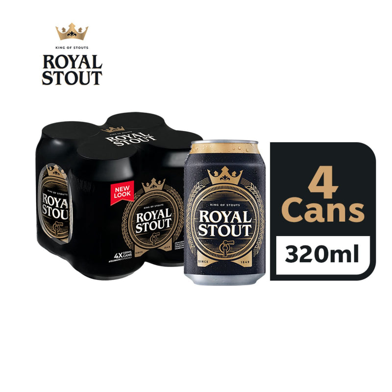 Royal Stout Beer Can 320ml