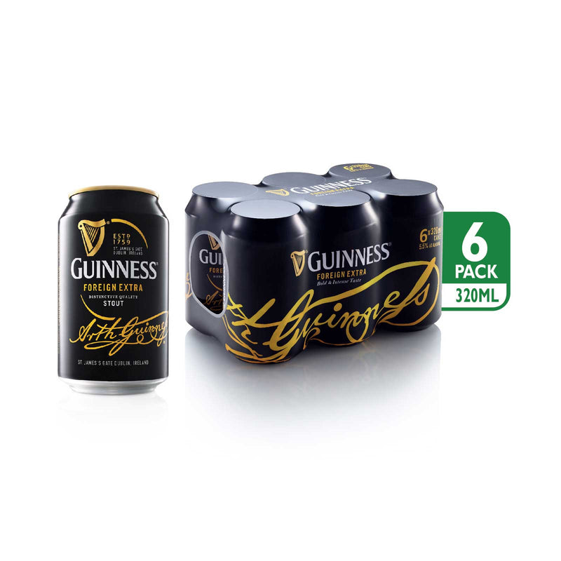 Guinness Foreign Extra Distinctive Quality Stout 320ml