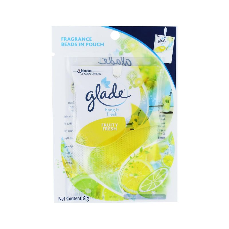 Glade Hang it Fresh Fruity Fresh Fragrance Beads 8g