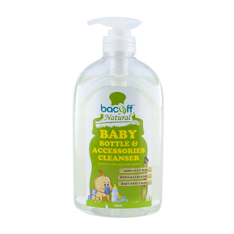 Bacoff Natural Baby Bottle & Accessories Cleanser 700ml