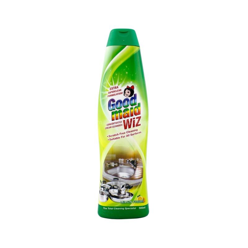 Goodmaid Wiz Concentrated Cream Cleanser Lemon 500ml