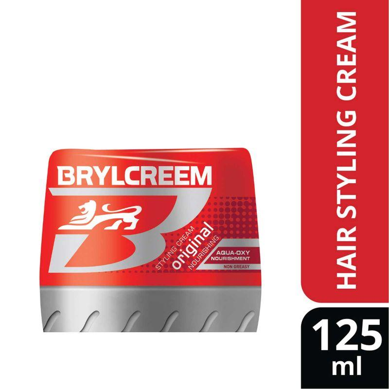 Brylcreem Original Aqua Oxy Hair Styling Cream 125ml