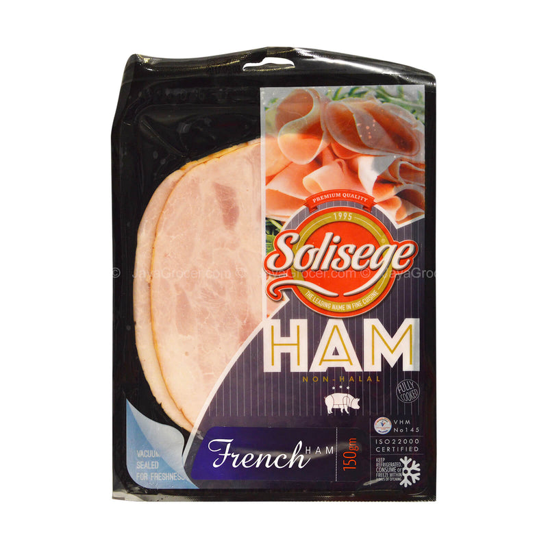 Solisege French Ham Slices 150g
