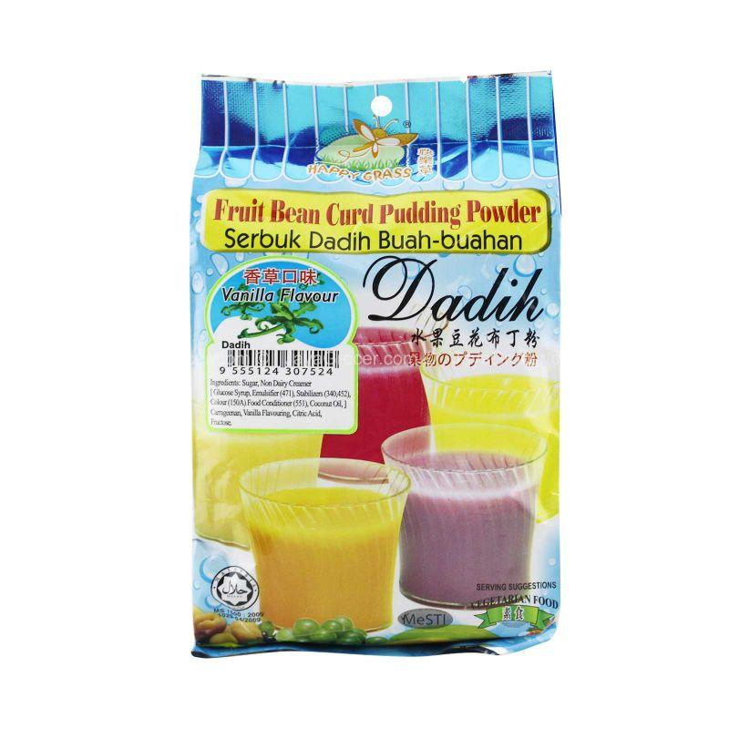 Happy Grass Vanilla Flavour Fruit Bean Curd Pudding Powder 360g
