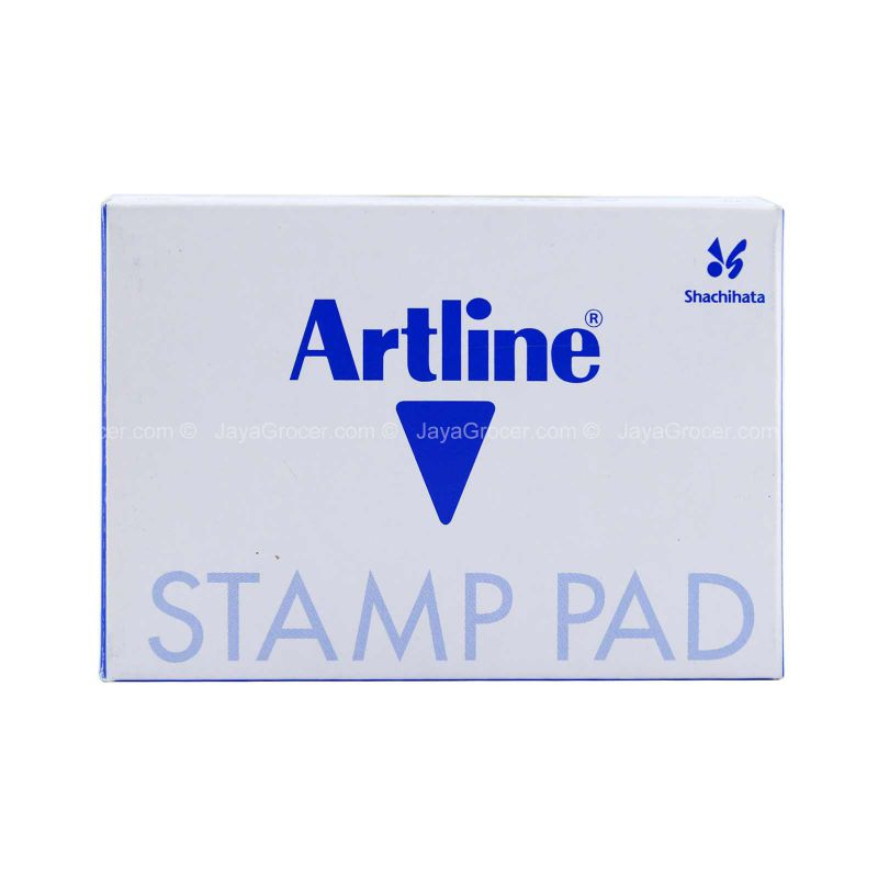 Shachihata Artline Stamp Pad Blue No. 0 1unit