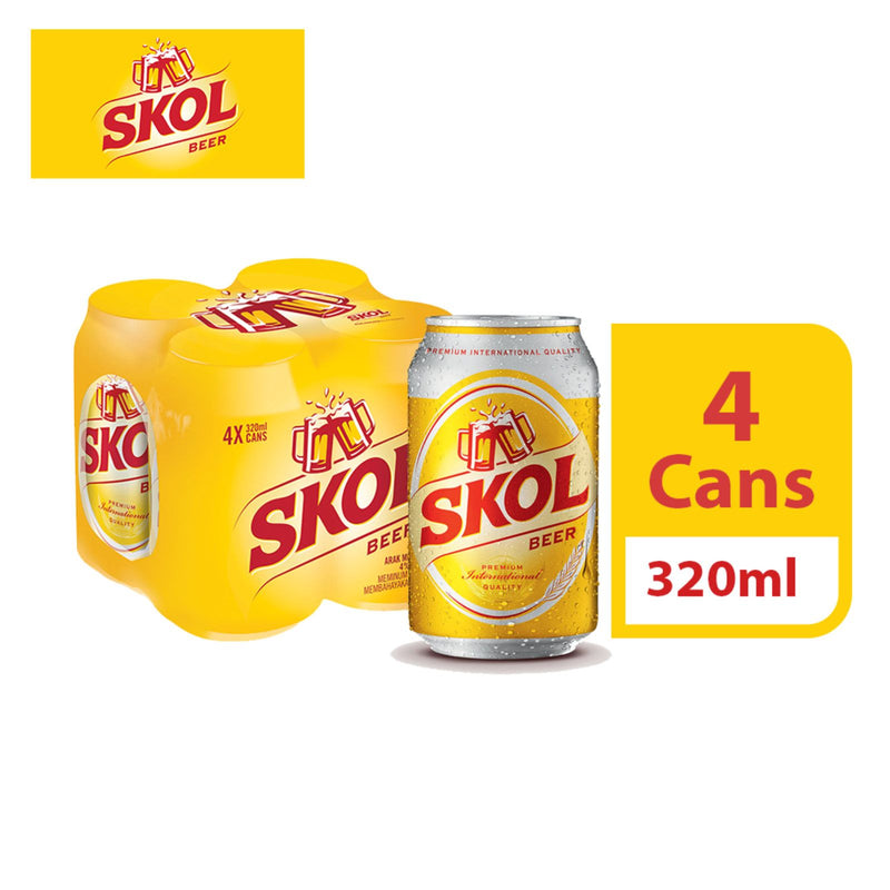 Skol Beer Can 320ml