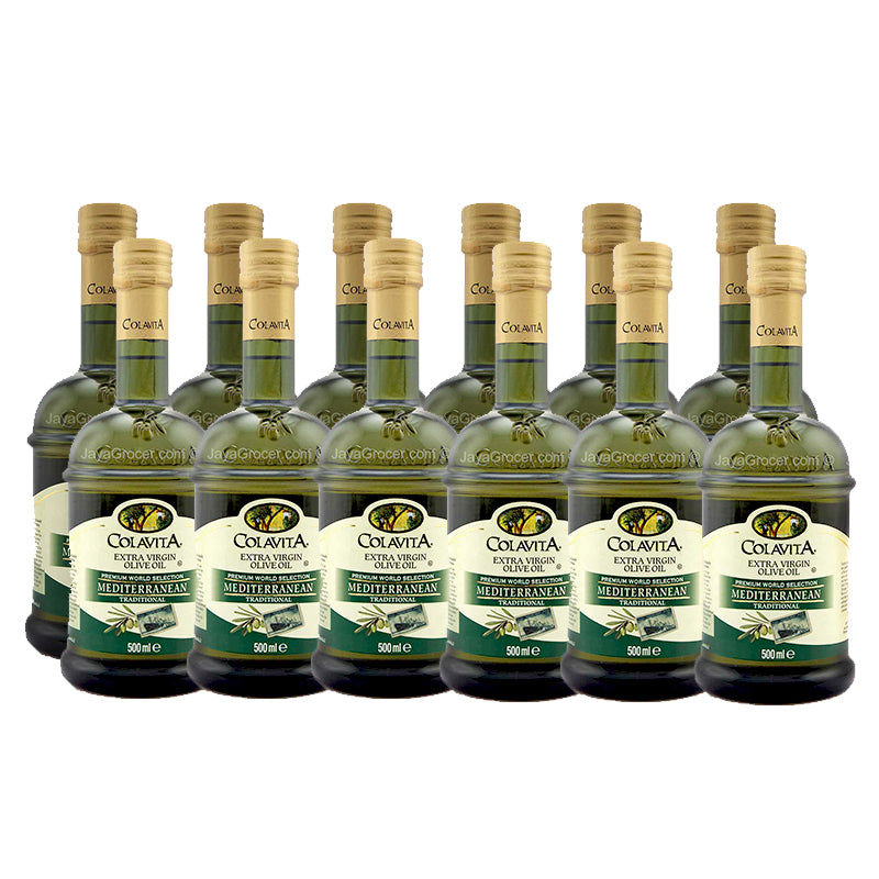Colavita Extra Virgin Mediterranean Traditional Olive Oil 500ml