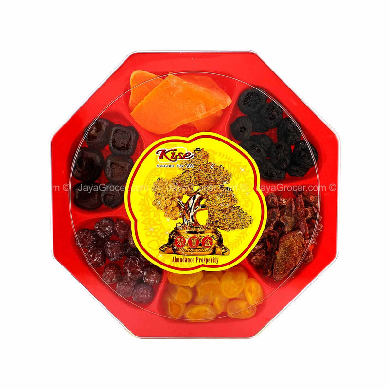Kise Hexagon Assorted Preserved Fruits 580g