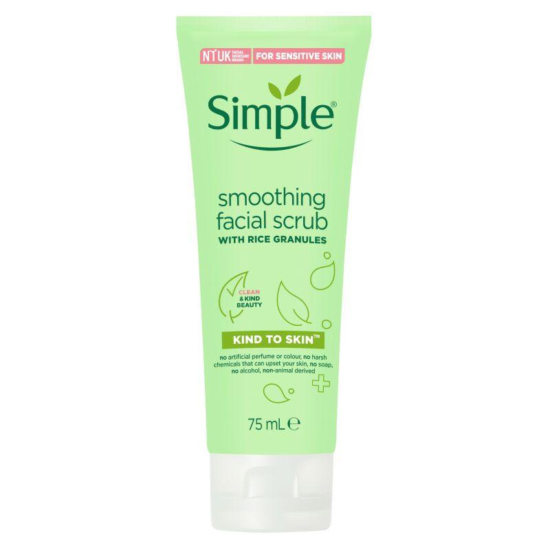 Simple Smoothing Facial Scrub 75ml