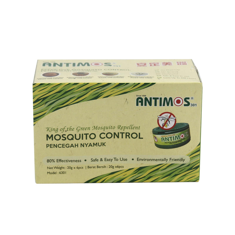 Antimos Mosquitoes Repellent 20g x 6pcs