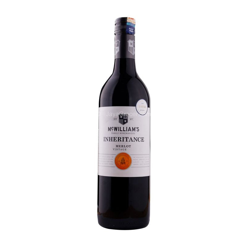 McWilliam's Inheritance Merlot Wine 750ml