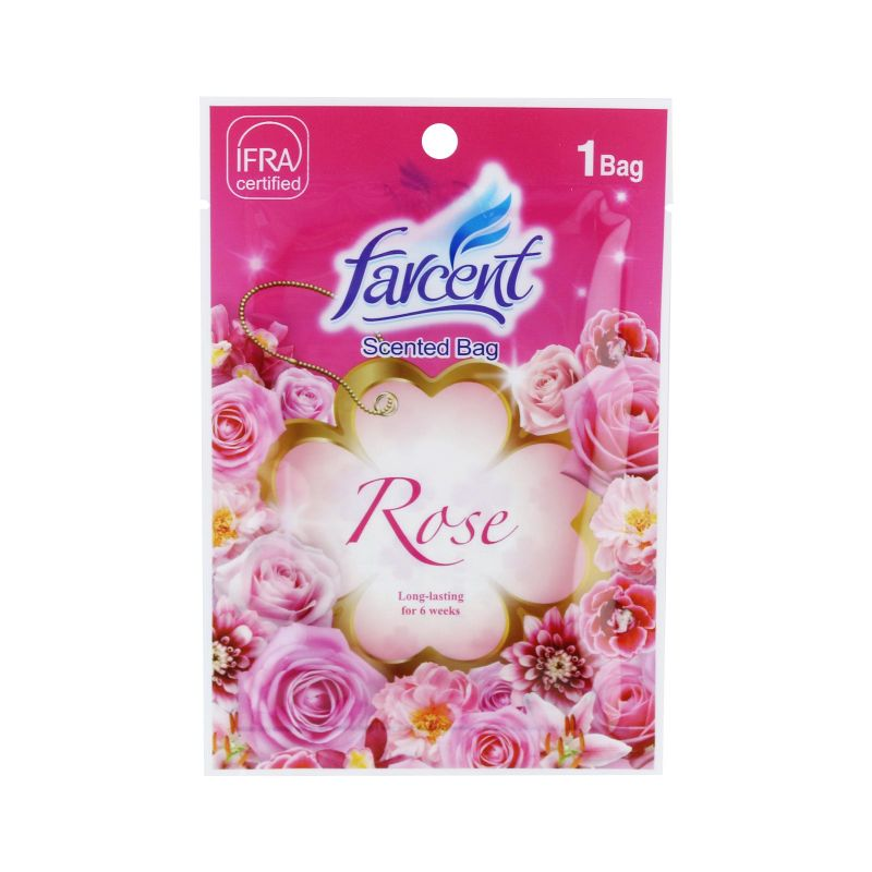 Farcent New Rose Scented Bag 10g