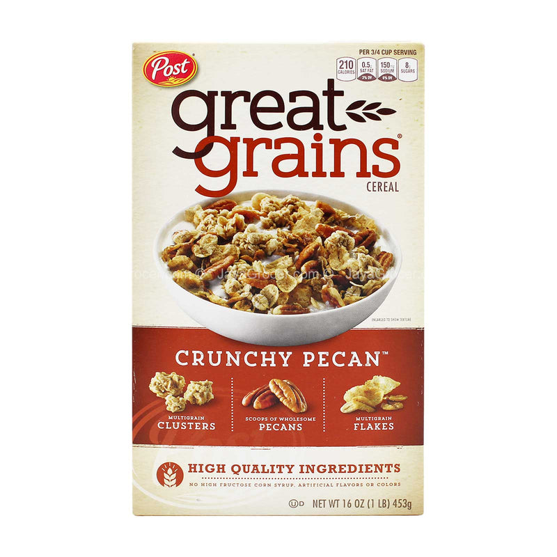 Post Great Grains Crunchy Pecans Cereal 453g