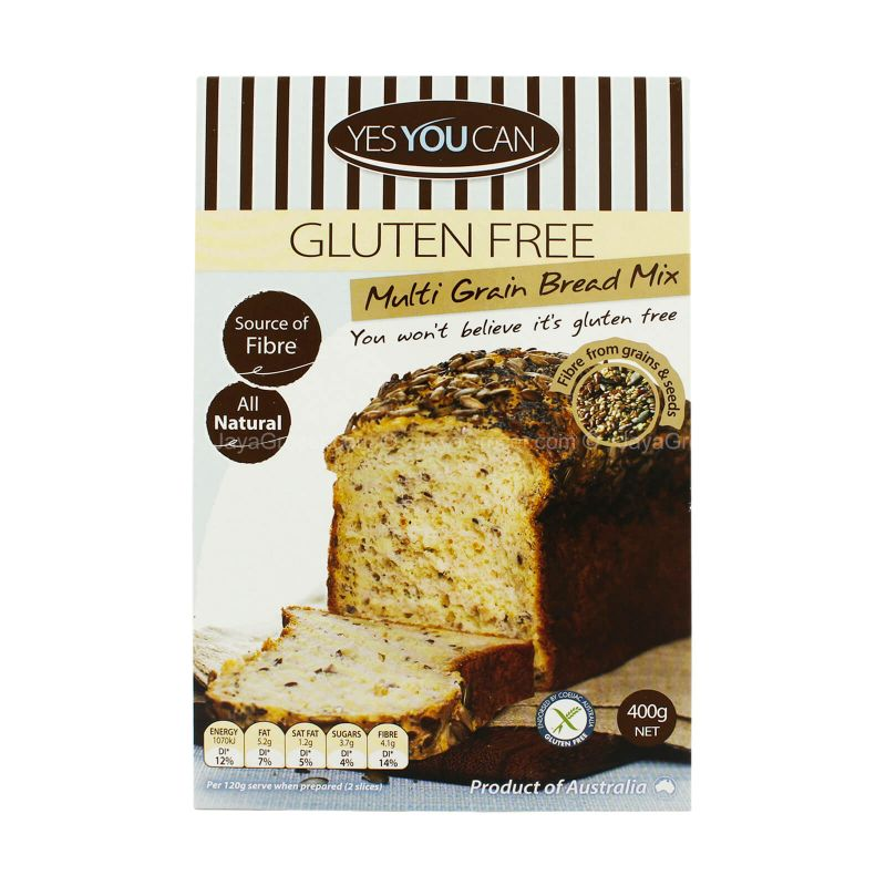 Yes You Can Multi Grain Bread Mix 400g