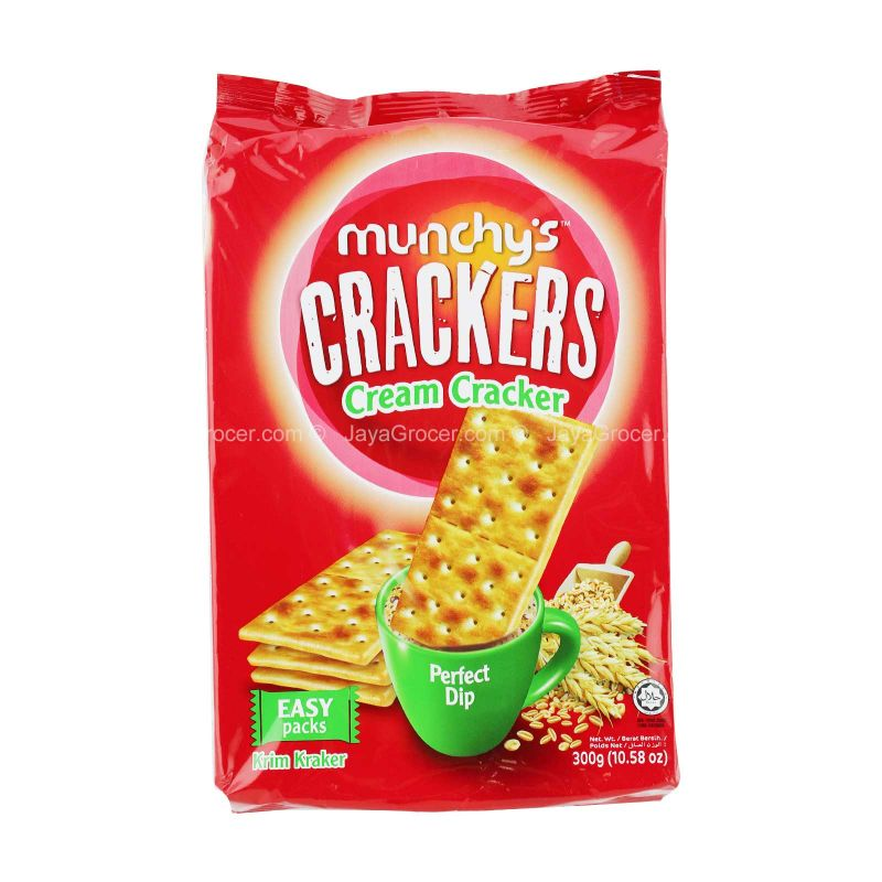 Munchy's Cream Crackers (12 packs) 300g