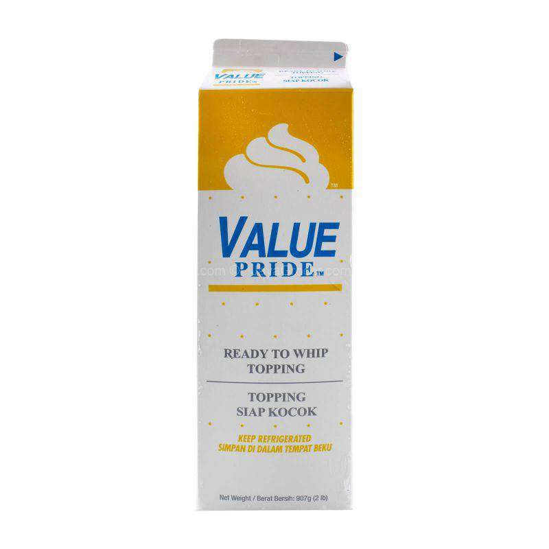 Value Pride Ready to Whip Topping 907g