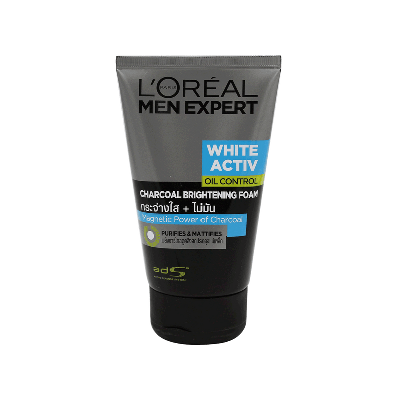 L'oreal Men Expert White Activ Oil Control Charcoal Brightening Foam 100ml