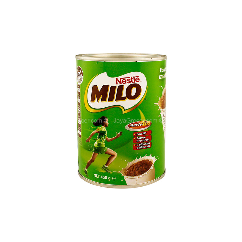 Nestle Milo Chocolate Malt Drink Powder Tin (Australia) 450g