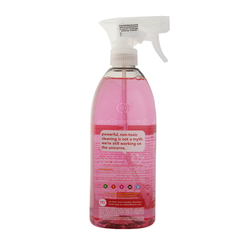 Method All-Purpose Pink Grapefruit Natural Surface Cleaner Spray 828ml