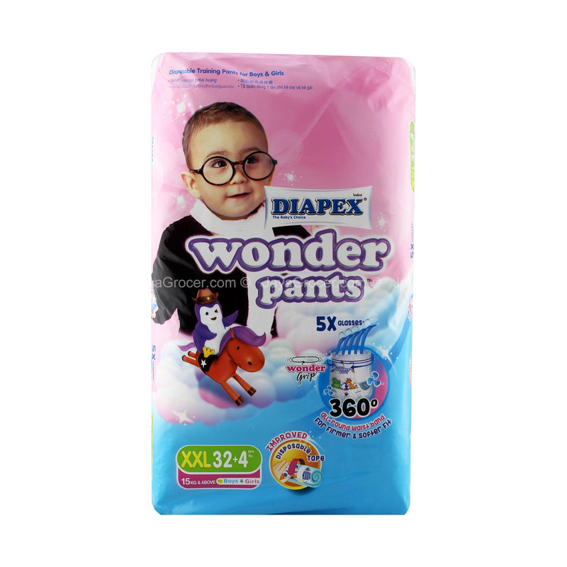 Diapex Wonder Pants XXL Diapers 32pcs