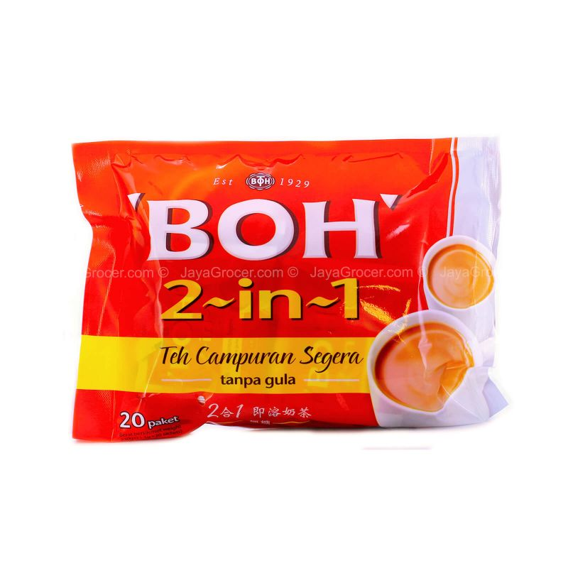 Boh 2 in 1 Instant Tea Mix 19g x 20sachets