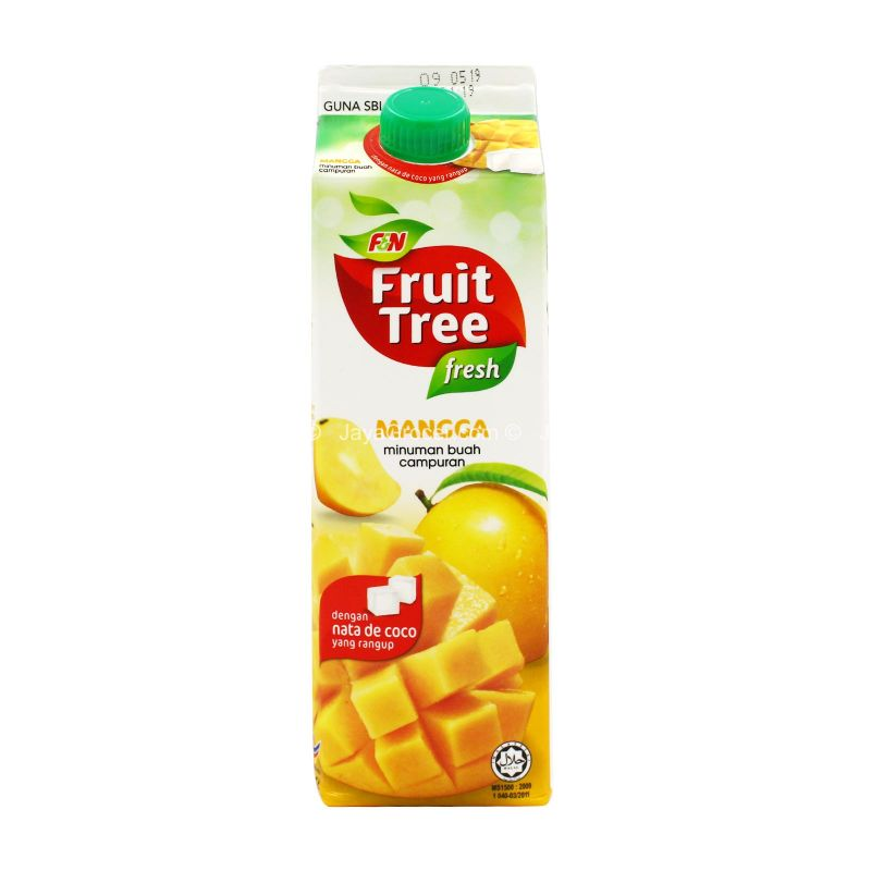 F&N Fuit Tree Fresh Mango Fruit Drink 1L