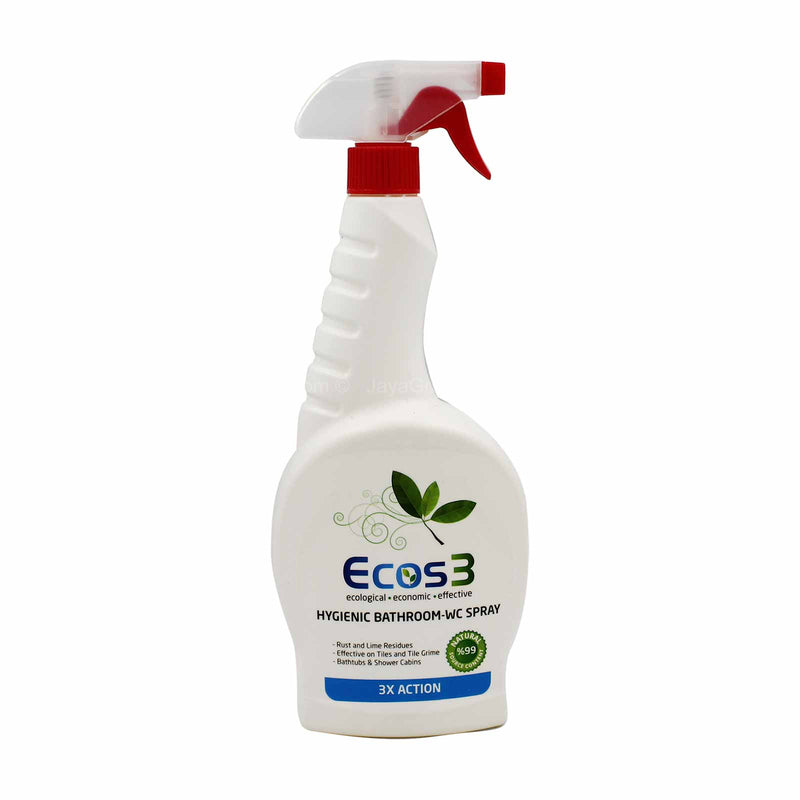 Ecos3 Hygienic Bathroom-WC Spray 750ml