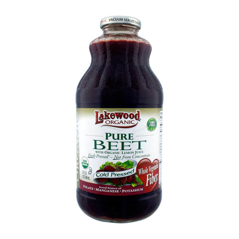 Lakewood Organic Beet with Organic Lemon Pure Juice 946ml