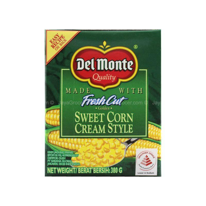 Del Monte Fresh Cut Sweet Corn Cream Style 380g