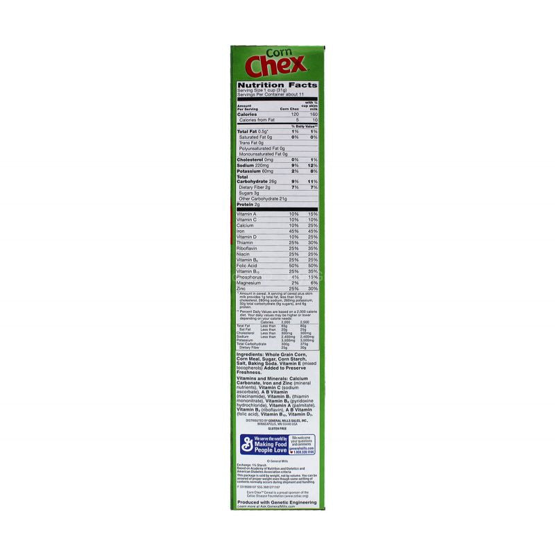 General Mills Corn Chex Cereal 340g