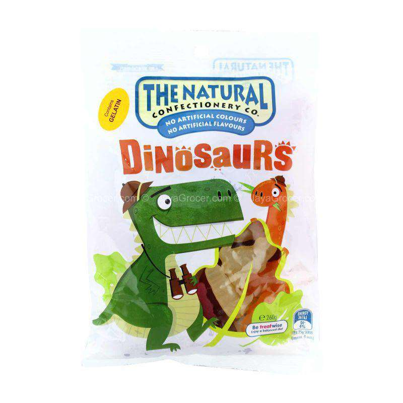 The Natural Confectionery Co Dinosaurs Jellies 260g
