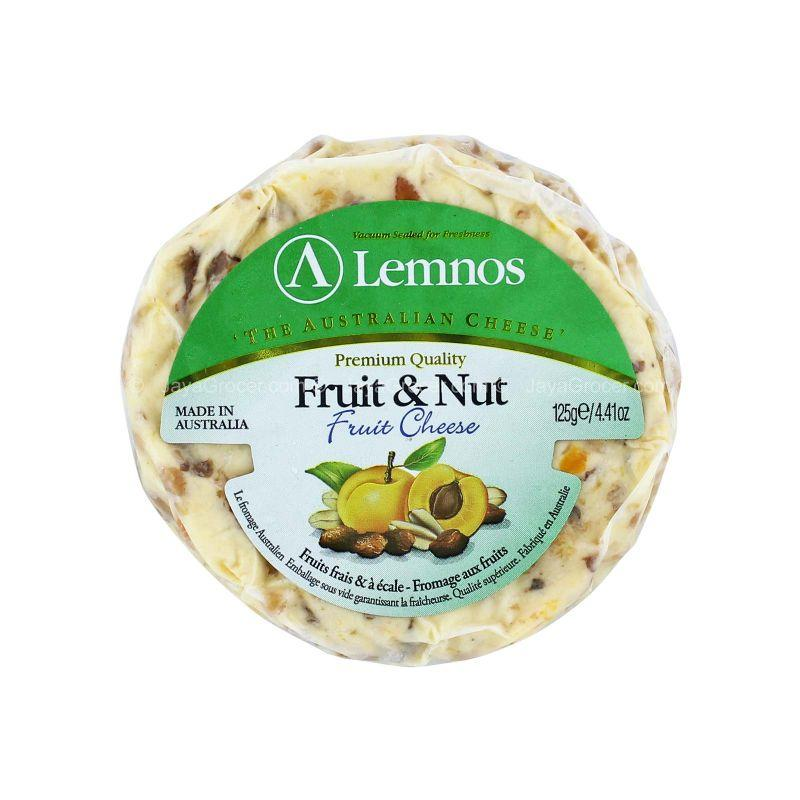 Lemnos Premium Quality Fruit and Nut Fruit Cheese 125g