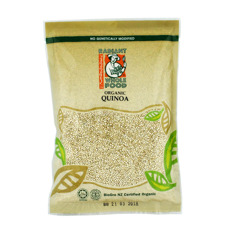 Radiant Whole Food Organic Quinoa 500g