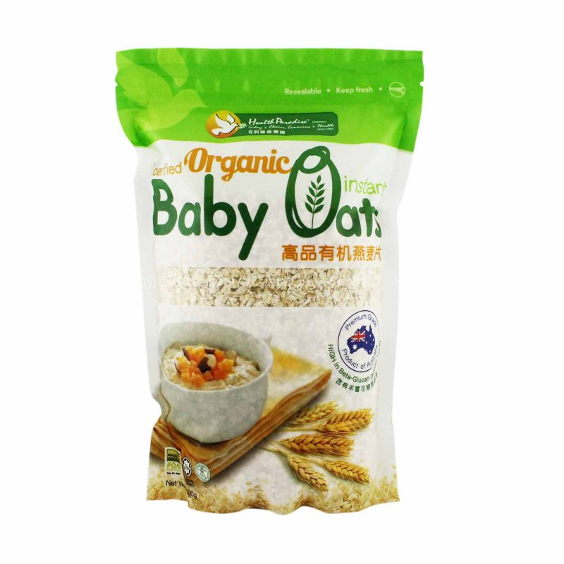 Health Paradise Certified Organic Instant Baby Oats 500g