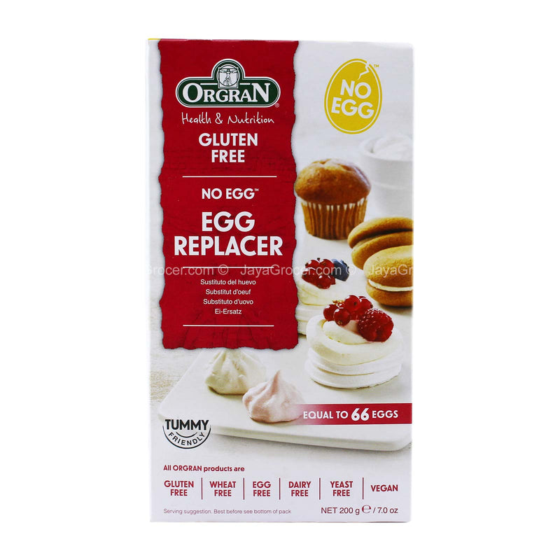 Orgran Gluten Free Egg Replacer Mix 200g