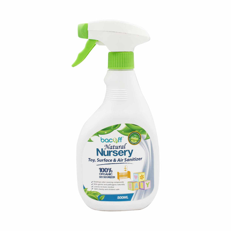 Bacoff Natural Nursery Sanitising Deodorizer 500ml