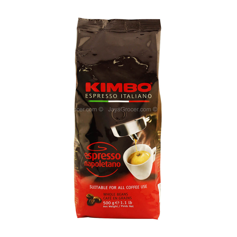 Kimbo Espresso Napoletano Whole Coffee Beans 500g