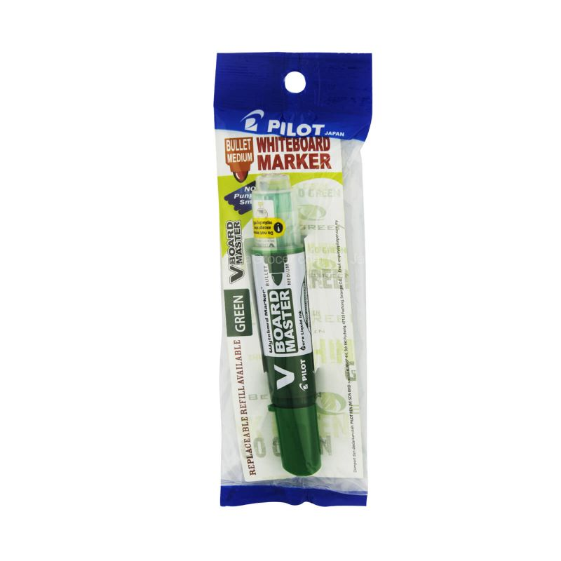 Pilot V Board Master Green Whiteboard Marker 1piece