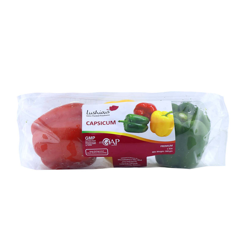 Lushious Capsicum Traffic Light (MYS) P6 1pack