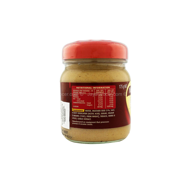 Master Foods French Mustard 175g